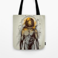 Naked Space Tote Bag