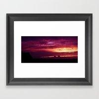 Magik Sky  Framed Art Print