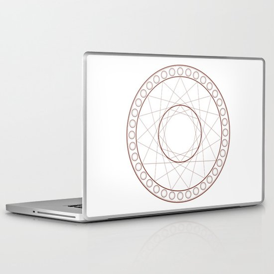 Anime Magic Circle 17 Laptop & iPad Skin