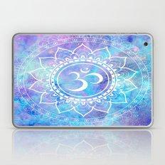Om Mandala Pink Aqua Lavender Galaxy Space Laptop & iPad Skin