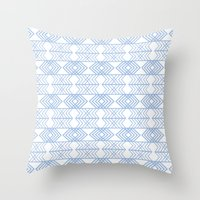 PatternPlay Series - v18 Throw Pillow
