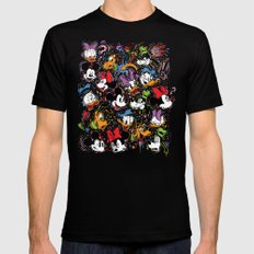 Emotion Explosion SMALL Black Mens Fitted Tee