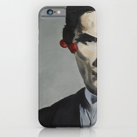 man with cherries iPhone & iPod Case