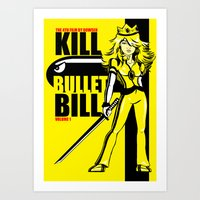 Kill Bullet Bill Art Print