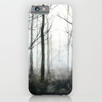 iPhone & iPod Case featuring fog among the trees by sissidesign