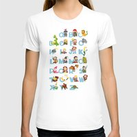 ABC  medieval (english) Womens Fitted Tee White SMALL