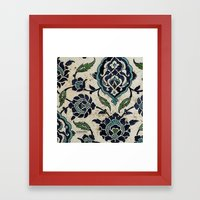 tile design Framed Art Print