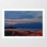 Lago Di Garda Art Print