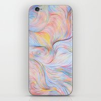 Wind I - Colored Pencil iPhone & iPod Skin
