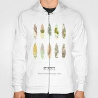 Geography Of Surfing Hoody