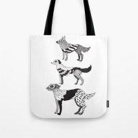 Andersen dogs Tote Bag
