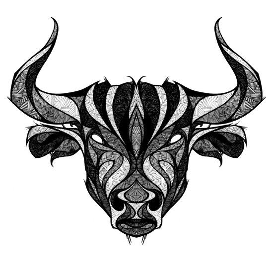 Signs of the Zodiac - Taurus Art Print