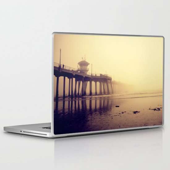 Huntington Beach Pier Laptop & iPad Skin