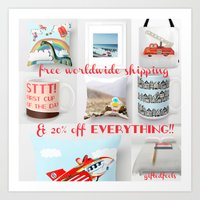 Everything 20% Off Yay!!… Art Print