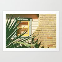 Warm Textures and colors Art Print