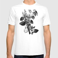REALLA Mens Fitted Tee White SMALL