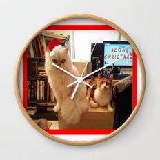 LES CATASTROPHES XMAS EDITION Wall Clock