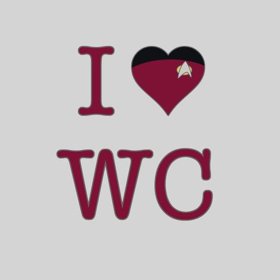 I Heart Wesley Crusher Canvas Print