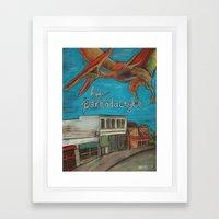Hyde Parkodactyle Framed Art Print