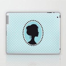 Blue cameo Laptop & iPad Skin