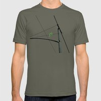 Love Birds Geometry Mens Fitted Tee Lieutenant SMALL