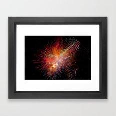 Particle Accelerator Framed Art Print