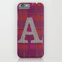 iPhone & iPod Case featuring Winter clothes. Letter A III. by Studio Caravan