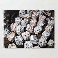 Cards Cards Cards Canvas Print