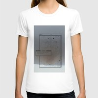 Pixel Screencapture - Are They Pixels Or Stars? Womens Fitted Tee White SMALL
