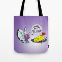 Lonely Butterfree Tote Bag