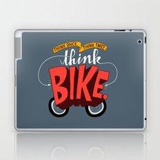 Think Once. Think Twice. Think Bike. Laptop & iPad Skin