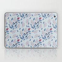 Purple Thistle Buds Laptop & iPad Skin