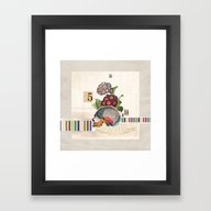 Framed Art Print featuring Perish The Thought by Robert Alan