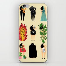 All of us live here iPhone & iPod Skin