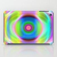 rainbow reactive iPad Case