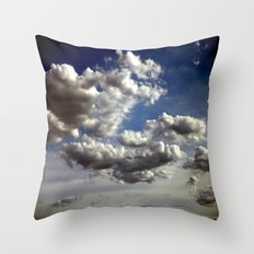 Cloud Formations Throw Pillow