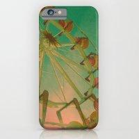 iPhone & iPod Case featuring wheel carousel by Mi Nu Ra