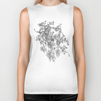 Ashes to Ashes lace skull Biker Tank