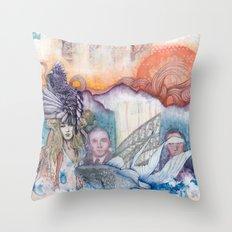 Sunset Gala Throw Pillow
