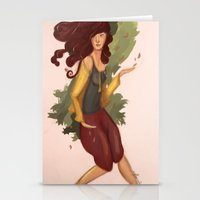 Autumn Walk Stationery Cards