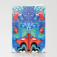 Where is my mind Stationery Cards