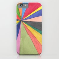 iPhone & iPod Case featuring Watercolor Pinwheel Robayre by robyn wells
