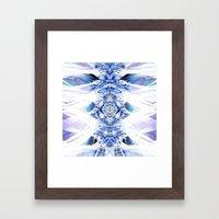 Crystal Mesh Framed Art Print