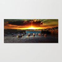 Marazion Cornwall Canvas Print