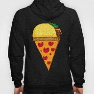 Taco Pizza Cone Hoody