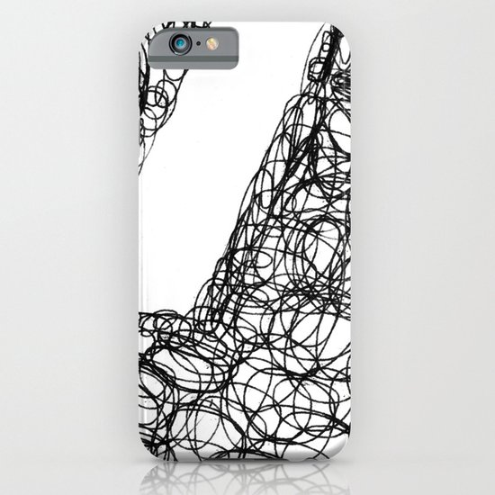 Wire Child iPhone & iPod Case