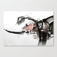 cutspace I Canvas Print