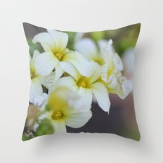 Curly Cluster Throw Pillow