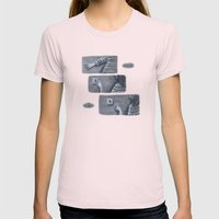 ...Nope... Womens Fitted Tee Light Pink SMALL