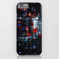 iPhone & iPod Case featuring Space Station by Mr D's Abstract Adventures